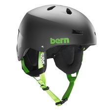 View the Bern Team Macon Helmet - Matt Black from the Men clothing range online today from Boarderline