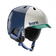 View the Bern Watts EPS Helmet - Matt Navy Hatstyle from the Men clothing range online today from Boarderline