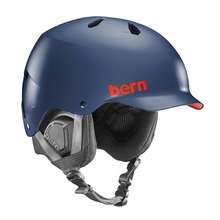 View the Bern Watts Helmet - Matt Navy Blue from the Men clothing range online today from Boarderline
