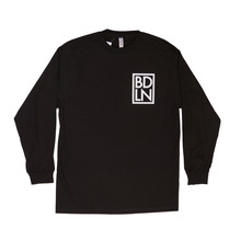 View the Boarderline BDLN Long Sleeve - Black from the T-Shirts clothing range online today from Boarderline