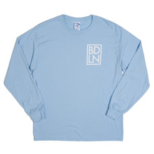 View the Boarderline BDLN Long Sleeve - Light Blue from the T-Shirts clothing range online today from Boarderline