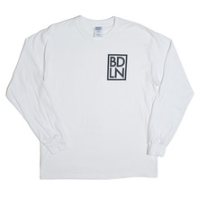 View the Boarderline BDLN Long Sleeve - White from the T-Shirts clothing range online today from Boarderline