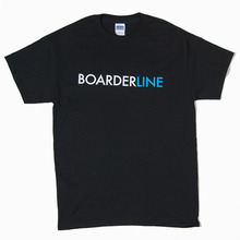 View the Boarderline Type Logo T-Shirt - Black from the T-Shirts clothing range online today from Boarderline