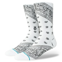 View the Stance Barrio 2 Socks - White from the Socks clothing range online today from Boarderline