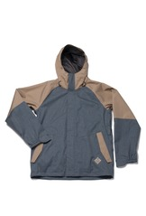 View the Bonfire Barlow Jacket - Shale/Smoke from the Mens Snowboard Jackets clothing range online today from Boarderline
