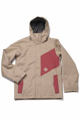 View the Bonfire Benson Jacket - Shale/Redwoods from the Mens Snowboard Jackets clothing range online today from Boarderline