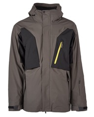 View the Bonfire Firma 3 in 1 Jacket - Charcoal from the Mens Snow Jackets clothing range online today from Boarderline