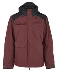 View the Bonfire Structure Jacket - Maroon from the Mens Snow Jackets clothing range online today from Boarderline