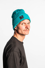 View the Brethren Beanie - Aqua from the Beanies clothing range online today from Boarderline