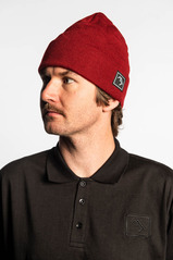 View the Brethren Beanie - Red from the Beanies clothing range online today from Boarderline