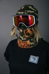 View the Brethren Robbin Hoods - Woodsman from the Neckwarmers & Face Masks clothing range online today from Boarderline