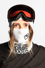 View the Brethren Robbin Hoods - White Room from the Neckwarmers & Face Masks clothing range online today from Boarderline