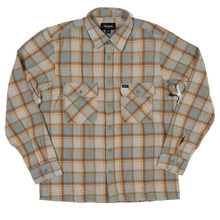 View the Brixton Archie Shirt - Heather Grey from the Shirts clothing range online today from Boarderline