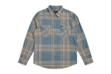 View the Brixton Bowery Shirt - Atlantic Blue from the Shirts clothing range online today from Boarderline