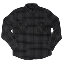 View the Brixton Bowery Shirt - Black/Heather Charcoal from the Shirts clothing range online today from Boarderline