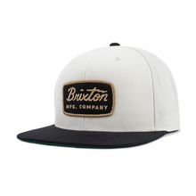 View the Brixton Jolt Cap - Off White/Black from the Snapbacks, 6 Panel Caps clothing range online today from Boarderline