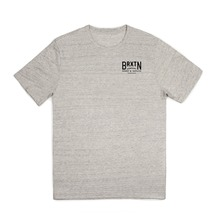 View the Brixton Langley Premium T-Shirt - Heather Stone from the T-Shirts clothing range online today from Boarderline