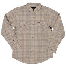 View the Brixton Memphis Shirt - Sand from the Shirts clothing range online today from Boarderline