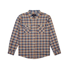View the Brixton Memphis Shirt - Copper Plaid from the Shirts clothing range online today from Boarderline