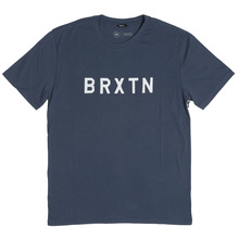 View the Brixton Murray T-Shirt - Navy from the T-Shirts clothing range online today from Boarderline
