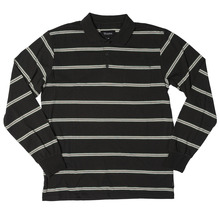 View the Brixton Noah Long Sleeve Polo - Black from the T-Shirts clothing range online today from Boarderline