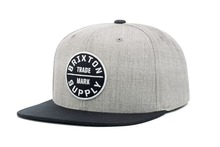 View the Brixton Oath Snapback - Grey/Black from the Snapbacks, 6 Panel Caps clothing range online today from Boarderline
