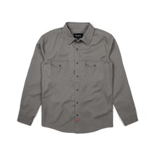 View the Brixton Olson Shirt - Light Grey from the Shirts clothing range online today from Boarderline