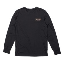 View the Brixton Palmer Premium Long Sleeve - Black from the T-Shirts clothing range online today from Boarderline