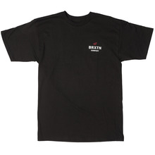 View the Brixton Peabody T-Shirt - Black from the T-Shirts clothing range online today from Boarderline