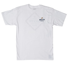 View the Brixton Peabody T-Shirt - White from the T-Shirts clothing range online today from Boarderline