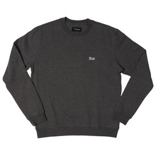 View the Brixton Potrero Crew Sweat - Charcoal Heather from the Hoods and Crews clothing range online today from Boarderline