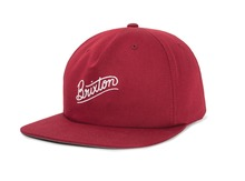 View the Brixton Sunder Snapback - Burgundy from the Snapbacks, 6 Panel Caps clothing range online today from Boarderline