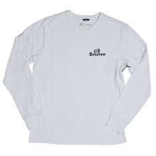 View the Brixton Tanka Long Sleeve - White from the T-Shirts clothing range online today from Boarderline