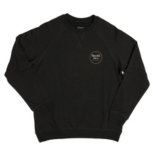 View the Brixton Wheeler Crew Sweat - Washed Black from the Hoods and Crews clothing range online today from Boarderline