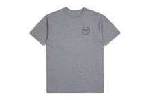 View the Brixton Wheeler T-Shirt - Heather Grey from the T-Shirts clothing range online today from Boarderline