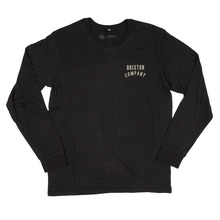 View the Brixton Woodburn Long Sleeve - Washed Black from the T-Shirts clothing range online today from Boarderline