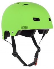 View the Bullet Deluxe Helmet Green - Youth from the Helmets/Pads clothing range online today from Boarderline