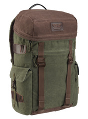 View the Burton Annex Pack - Forest Night Waxed Canvas from the Backpacks clothing range online today from Boarderline