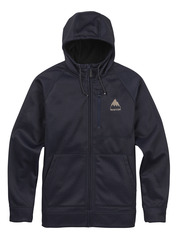 View the Burton Bonded Full Zip Hood - Indigo Heather from the Fleece/Layering clothing range online today from Boarderline