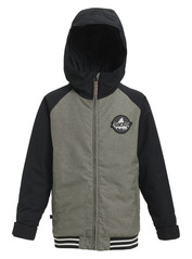 View the Burton Boys Gameday Jacket - Bog Heather/Black from the Jackets clothing range online today from Boarderline