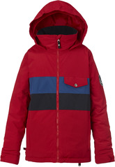 View the Burton Boys Symbol Jacket - Process Red from the Jackets clothing range online today from Boarderline