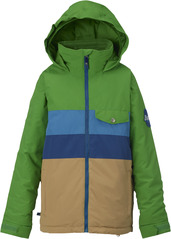 View the Burton Boys Symbol Jacket - Slime Block from the Jackets clothing range online today from Boarderline