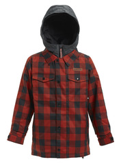View the Burton Boys Uproar Jacket - Bitters Buffalo Plaid from the Jackets clothing range online today from Boarderline