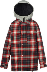 View the Burton Boys Uproar Jacket - Process Red Plaid from the Jackets clothing range online today from Boarderline