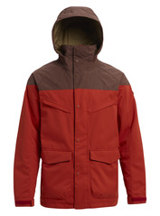 View the Burton Breach Jacket - Bitters/Chestnut Waxed from the Mens Snowboard Jackets clothing range online today from Boarderline