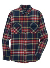 View the Burton Brighton Flannel Shirt - Dress Blue from the Shirts clothing range online today from Boarderline