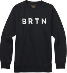 View the Burton BRTN Crew Sweat - True Black from the Hoods and Crews clothing range online today from Boarderline