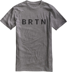 View the Burton BRTN T-Shirt - Heather Grey from the T-Shirts clothing range online today from Boarderline