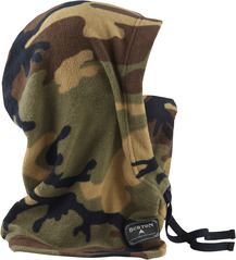 View the Burton Burke Hood - Highland Camo from the Neckwarmers & Face Masks clothing range online today from Boarderline