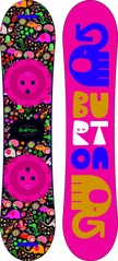 View the Burton Chicklet Kids Snowboard - 110 cm from the Kids Snowboards clothing range online today from Boarderline